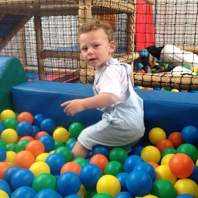 Dylan having fun