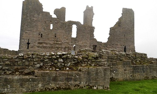 Local Castle,and walk.Dunstanburgh.