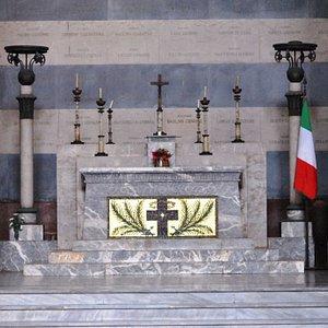altare Sacrario di Posillipo ai Caduti della Città di Napoli