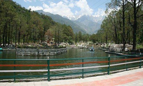A boating spot at Saurabh Van Vihar