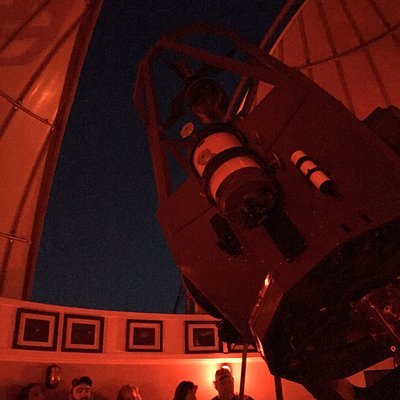 Telescope and observation area