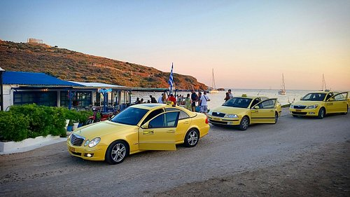 Taxi Poseidon serves Lavrion and Sounion with reliability and responsibility 24/7 call for a yel