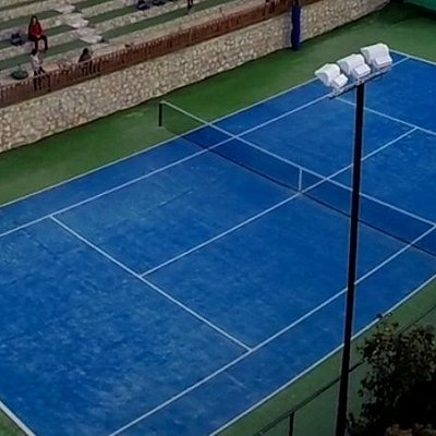 tennis in kefalonia...
