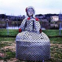 Esculturas Jaume Riera al aire libre.