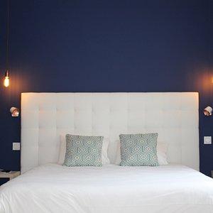 chambre bleu nocture