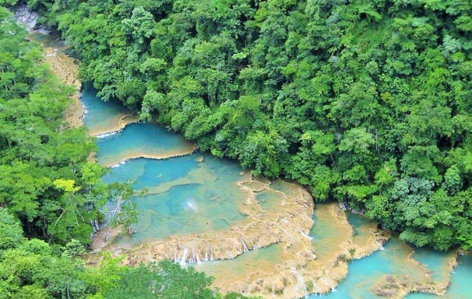 Semuc Champey, Coban Alta Verapaz, Guatemala