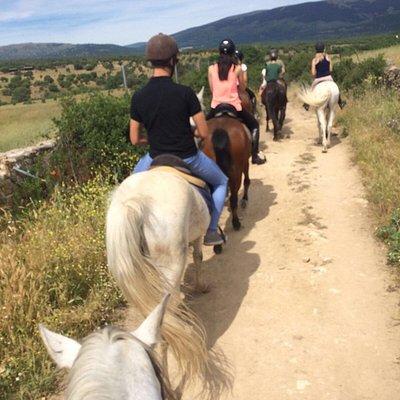 Ruta a caballo (2hr)