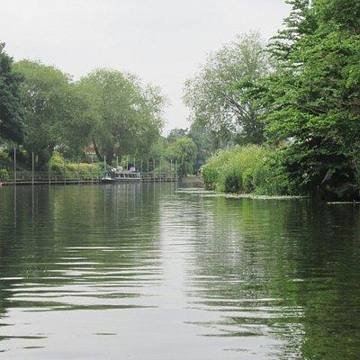 Avon River at Evesham.
