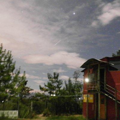 atardecer en el observatorio