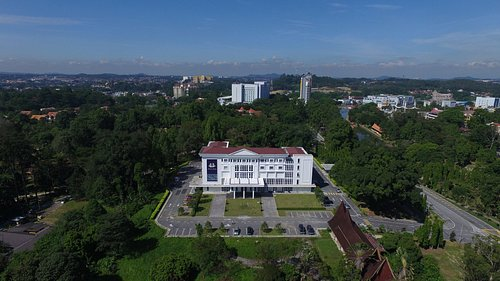 Nestled in the lush green parks of Seremban town
