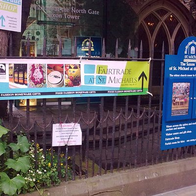 Fairtrade at St Michael's, Oxford