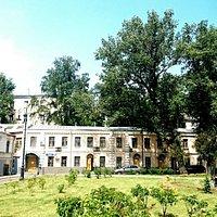 Старинные дома вокруг Хитровки