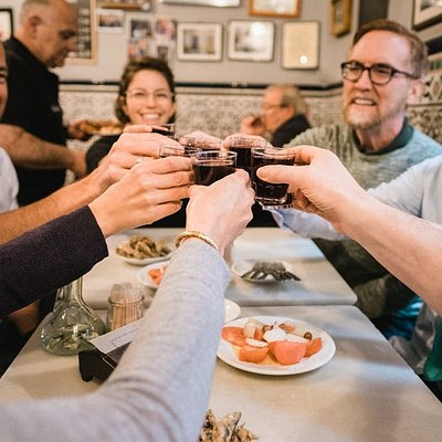 Cheers to good friends, good health, and GREAT tapas!