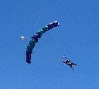 My first tandem jump!