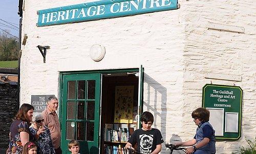 Entrance to Dulverton Heritage Centre