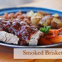 Smoked Brisket Dinner