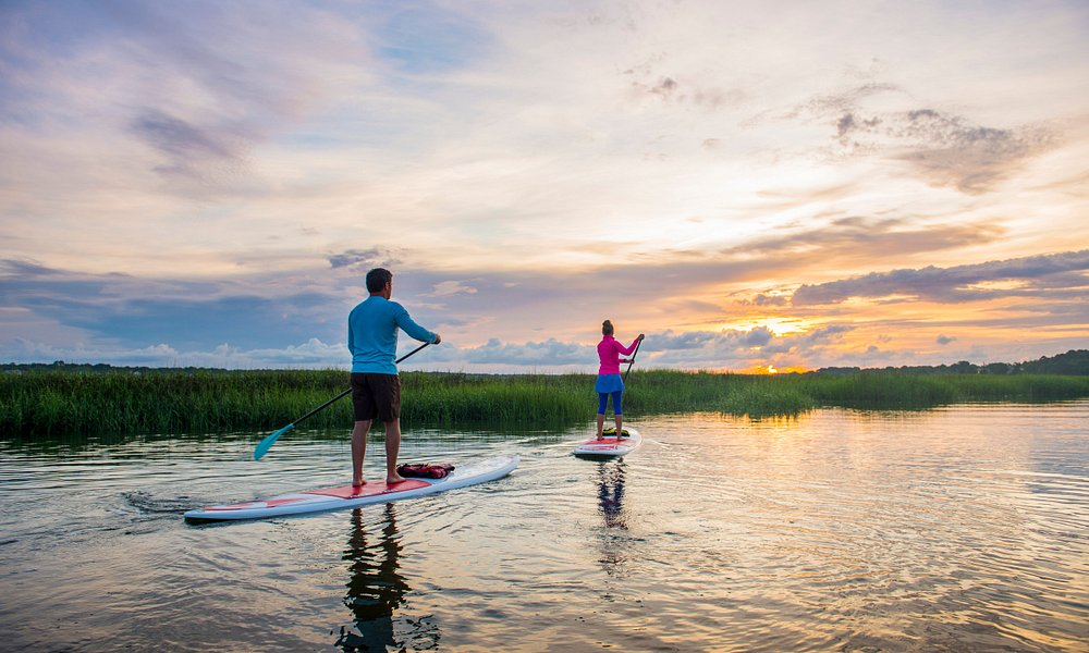 Paddle Board through the Charleston Water Ways