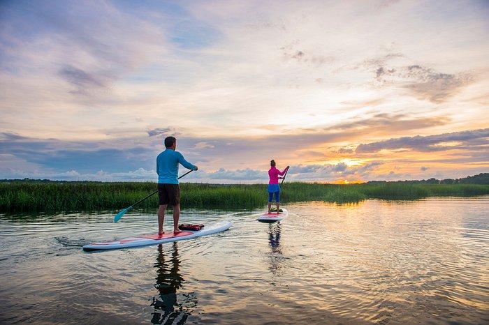 Paddle Board through the Charleston Water Ways