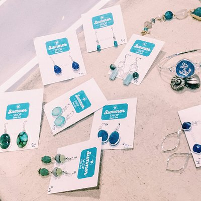 Just a few pieces of Summer Shop's jewelry