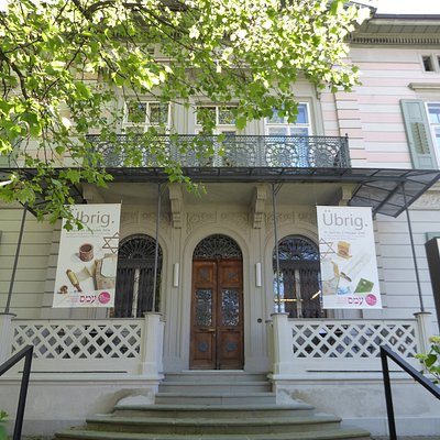 exterior of villa, now museum