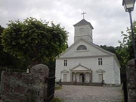 Mandal church/photo by Anna Lankinen