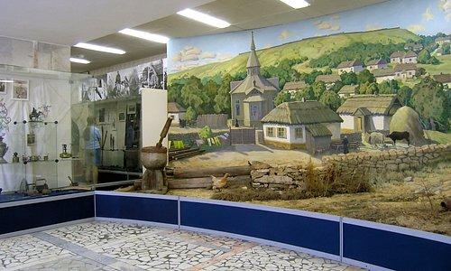 Диорама казачьей станицы в Музее истории казачества в Ставрополе
