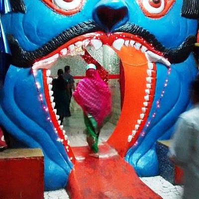 Vaishno Devi cave recreated