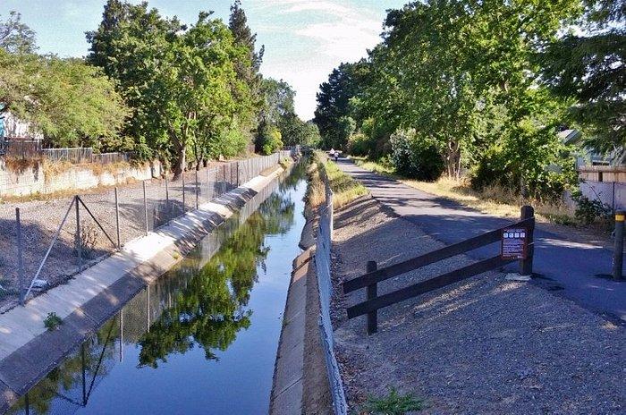 Contra Costa Canal Trali, Pleasant Hill, CA, May 2016