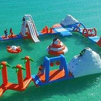 Side View Aqua Park