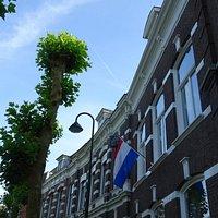 straatsbeeld buurt verzetsmuseum Gouda