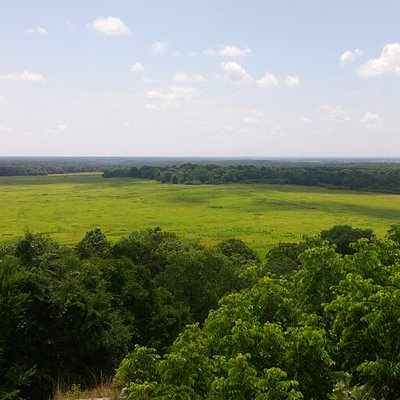 View of the battlefield from the East Overlook.