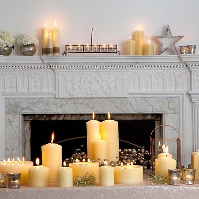 Beautiful church candles