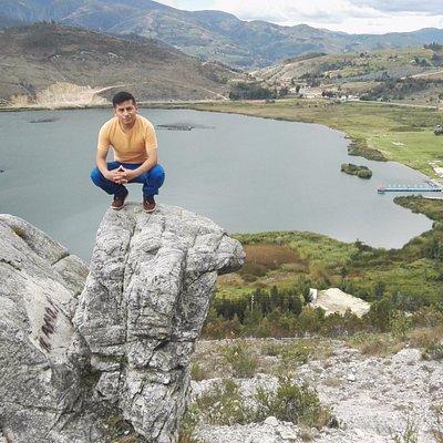 Laguna de Sausacocha, Vista desde la Tortuga (Mirador)