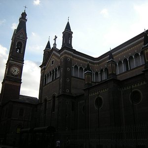 Side view with bell tower