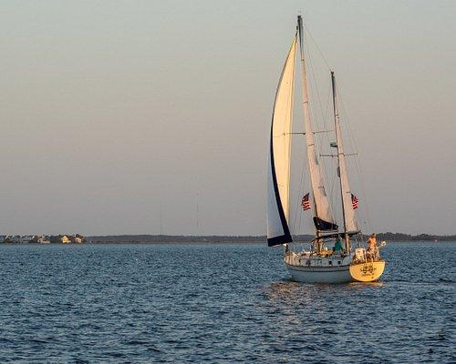Sailing on Roanoke Sound