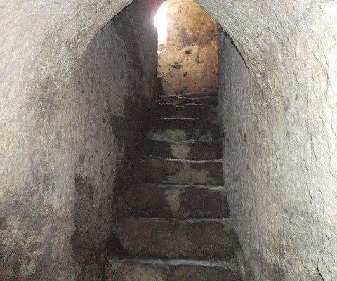 ingresso al pozzo di San Paolo
