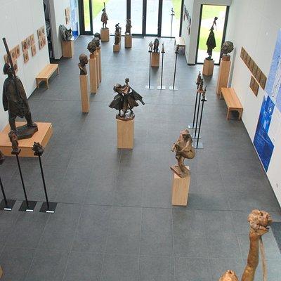 inside of Gallery Jan Kulich