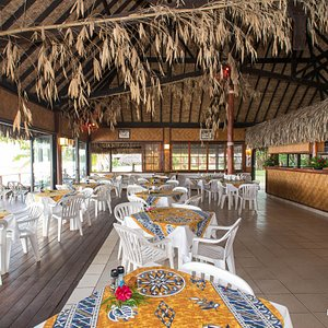 Beach Restaurant at the Hotel Les Tipaniers