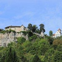 Promontoire du château d'Ornans