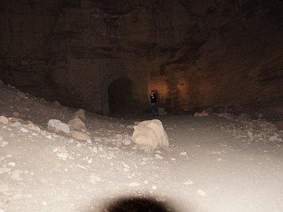 Túnel, já no começo da noite