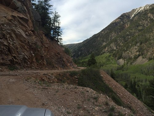 Our drive on Old Lime Creek Road.