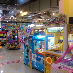 Kid's playground in the basement of HiMall Banciao, New Taipei City