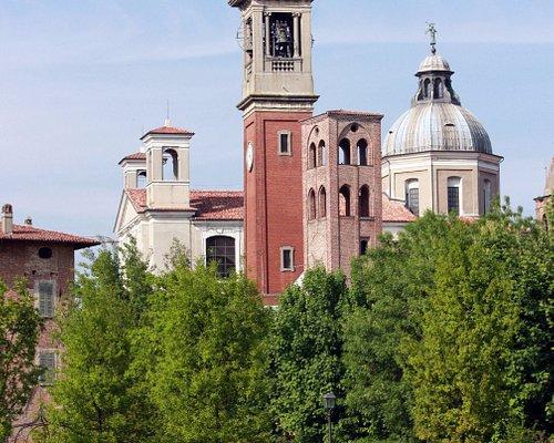 La basilica minore vista dal Parco Nocivelli