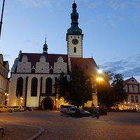 Žižkovo náměstí  Kirche