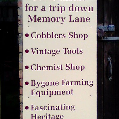 features at hacket barn museum