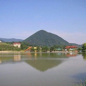 Силоамское озеро в Шаяне
