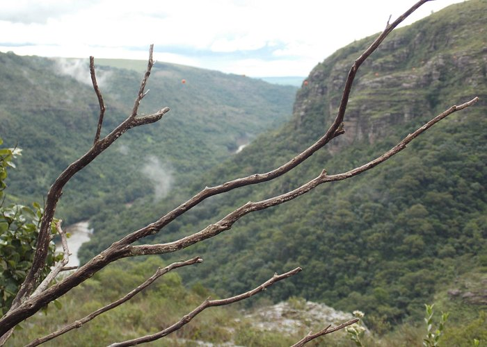 Vista do Canyon - Parque Estadual do Guartelá - Tibagi-PR