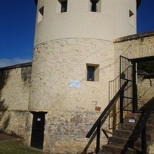 Entrance to prison