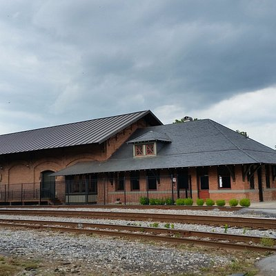 The Old (now refurbished) Carrollton Train Depot (available for events)