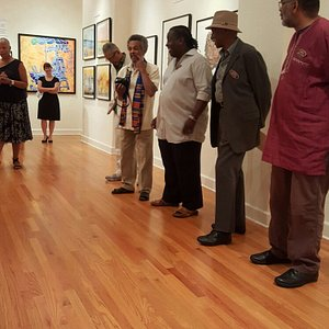 AfriCOBRA. Excellent Exibit at the Gallery!   What a great place to visit.  Always great Artists